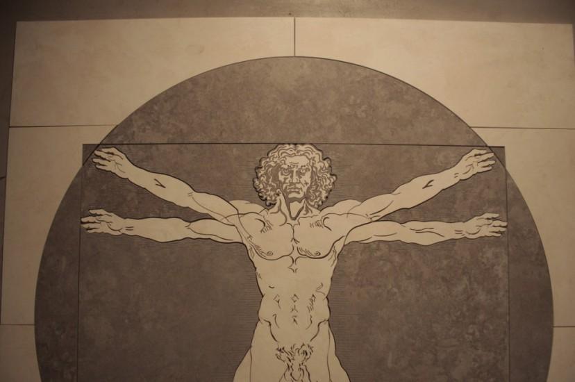 Człowiek Witruwiański Da Vinci